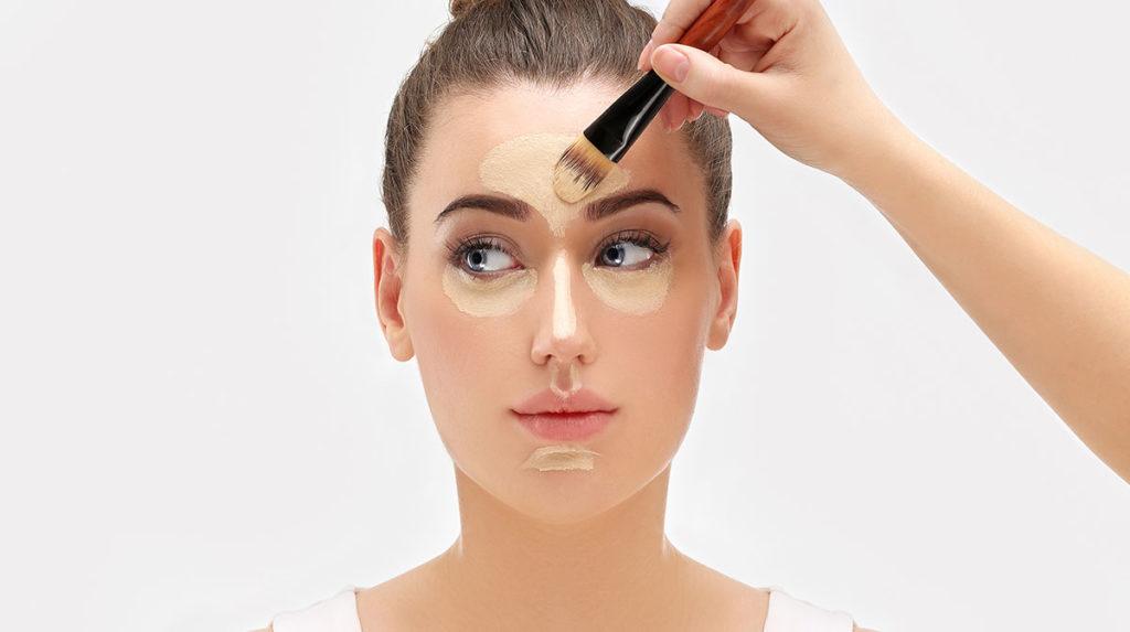 Стробинг в макияже